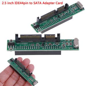 Adattatore per laptop IDE da 44 pin a SATA, converti hard disk IDE HDD da 2 DXi