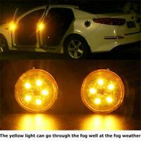2PCS Auto Tür Warnleuchte LED Blitzlicht Universal Smart Wireless Strobe