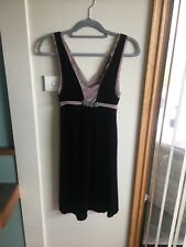 Ladies Size M Free People Velvet And Lace Dress