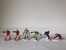 ZERBOZ MARVEL HEROES SERIES 1 Lot of 6 IRON MAN SPIDER-MAN