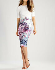 NEW Ted Baker Stephie Illuminated Bloom Contrast Tailored Bodycon Dress £179