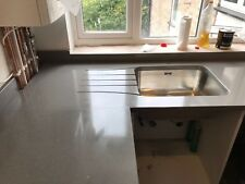 Pure Grey | Quartz Sample | Kitchen Worktops