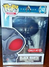 Funko Pop! Heroes Dc Aquaman Black Manta #248 Target Exclusive