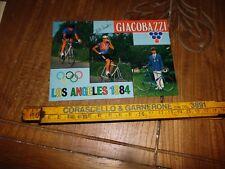 CICLISMO LAMBRUSCO GIACOBAZZI CLAUDIO VANDELLI OLIMPIADI LOS ANGELES 1984
