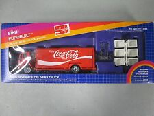 Siku Eurobuilt Ford Beverage Delivery Truck New In Box