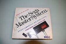 Console SEGA Master System import japon en boite très rare cib + jeux