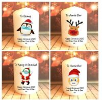 Personalised Christmas 2020 Candle Gift Mum Family Friend Gran Nan Sister Auntie
