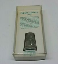 PEWTER REPRODUCTION METAL TUDOR THIMBLE BY WESTAIR