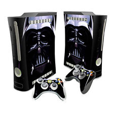 XBOX 360 Skin Sticker Decal Cover + 2 Controllers STAR WARS DARTH VADER