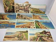 More details for 1920's/30's postcards - shanklin isle of wight - j. arthur dixon b&w & coloured