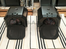 CONSIGNMENT - B&W MATRIX 801 S2 MIDRANGE ENCLOSURE PAIR + GRILLES - PRISTINE!