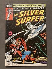 Fantasy Masterpieces #4 1980 Reprint of Silver Surfer 4 From 1969 Marvel