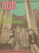 MAGAZINE OOR 1980 nr. 18 - UNDERTONES / SCENE / MARVIN GAYE /ECHO & THE BUNNYMEN