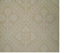 2x NEW ZOFFANY WALLPAPER 56sf roll CLOVER TILE Arts & Crafts acv02001 BEIGE 11yd