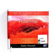BOOK/AUDIOBOOK CD Kelly Howell Self Help Meditation UNFOLD YOUR POTENTIAL