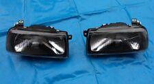 Scheinwerfer VW Vento  schwarze getönt dunkel  VR6 G60 Frontscheinwerfer schwarz