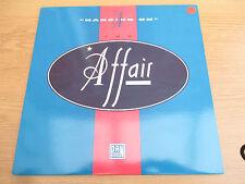 "The Affair  – Hanging On Vinyl 12"" 45 RPM Electronic Funk / Soul   PANTX 00312"