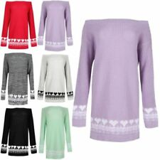 Acrylic Patternless Sleeve Jumpers & Cardigans for Women