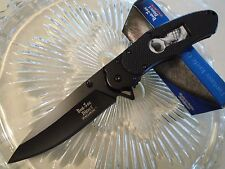 Dark Side Blades Ballistic Assisted Open Key Hole Skull Pocket Knife A050BS New