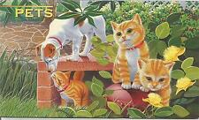 1996 Pets 6 Stamps + Mini Sheet - Post Office Stamp Pack