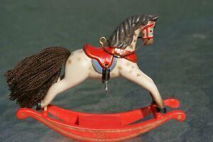 Vintage 1981 Hallmark Rocking Horse Ornament 1st in Series - no box