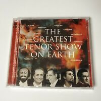 NEW Greatest Tenor Show On Earth 2 CD Pavarotti Carreras Bjorling Domingo Alagna