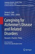 Caregiving for Alzheimer's Disease and Related Disorders : Research -...