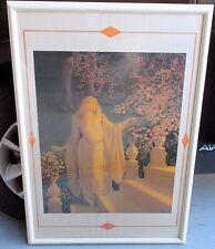 """36"""" MAXFIELD PARRISH Art Deco Nouveau Lithograph """"Enchantment (or Cinderella)"""""""