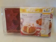 Stars Mold Moulds for Baking and Freezing Silicone Jello RBV BIRKMANN GERMANY