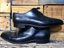 JM Weston Super Prime Sole Derby Black Leather dress shoes US 11 E RARE