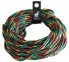 Airhead 4 Rider Towable Tube 60 Foot Tow Rope Boat Lake Ahtr-4000