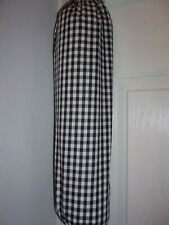 Black Gingham Carrier Bag Holder/Dispencer  Homecrafted Shabby Chic (e)