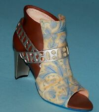 "Just the Right Shoe, Raine, ""Zapata"" mixed media, mi