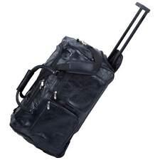 "Embassy Italian Stone Design Genuine Leather 21"" Trolley/Tote Bag LUTRDF21"
