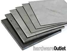 100 x 100mm 2.5mm Thick Mild Steel Plate Sheet Guillotine Cut