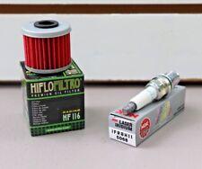 Honda SporTrax TRX 450 TRX450R Tune Up NGK Spark Plug & Oil Filter TRX450 04/05