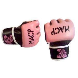 Pink MACP Grappling Gloves MMA 4oz