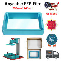 US ANYCUBIC Resin Vat Container With FEP Film for LCD 3D Printer Photon Useful