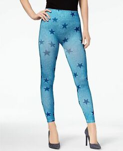 First Looks by HUE Women's Denim Star Seamless Leggings, Assorted Colors
