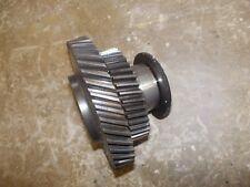 International 504 diesel Utility Tractor engine motor double pump drive gear