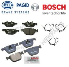 For BMW M5 M6 5.0L V10 2006-2010 Front & Rear Disc Brake Pad Set w/ Wear Sensors