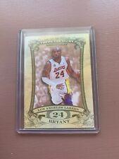 2008 Topps Treasury Basketball Rip Card: Kobe Bryant RIPPED #/99