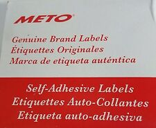 METO  076435K, SELF-ADHESIVE LABELS  (D863)