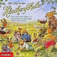 Kinder CD Ulrich Maske Ein Tag in der Häschenschule Musik Hörspiel Ostern Jumbo