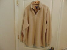 Men's Reel Legends Beige High Pile Fleece Pullover-XXL