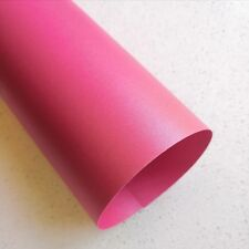 20 x A4 Metallic paper for wedding invitation- 120GSM watermelon/ Hot Pink