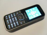 Samsung E1230 - Black (Unlocked) Mobile Phone - Fully Working and Tested