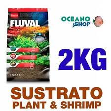 SUSTRATO FLUVAL PLANT & SHRIMP 2kg calidad especial plantas gambario acuario