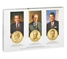 2016 Presidential $1 Proof Coins Mint Set - Last 3 Presidents - MIB and COA