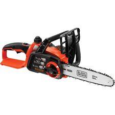 BLACK+DECKER Akku-Kettensäge GKC1825L20, 18 Volt , Elektro-Kettensäge, orange